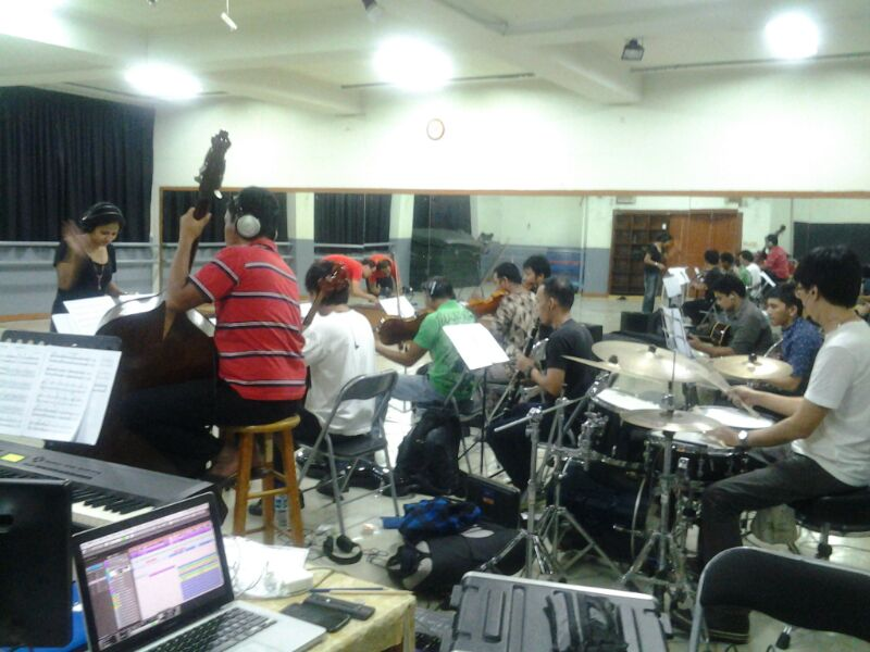 Rehearsal scoring 2
